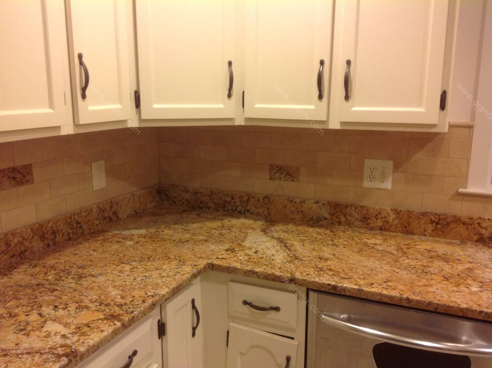 Stone silestone sensa granite on Granite Countertops With Backsplash  id=12458